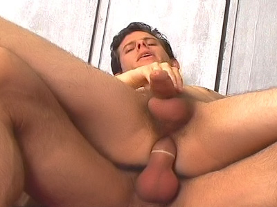Handsome Gay Riding a Cock